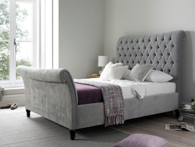 Oxford Upholstered Sleigh Bed