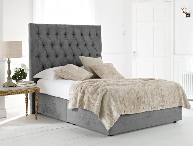Kensington Upholstered Divan Base and Headboard