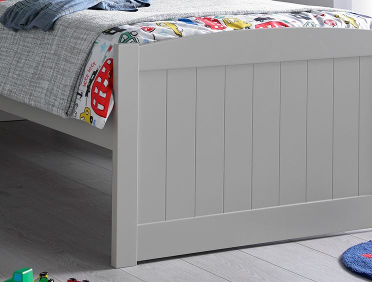Portland Solo Grey Bed Frame