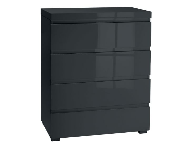 Puro Charcoal 4 Drawer Chest