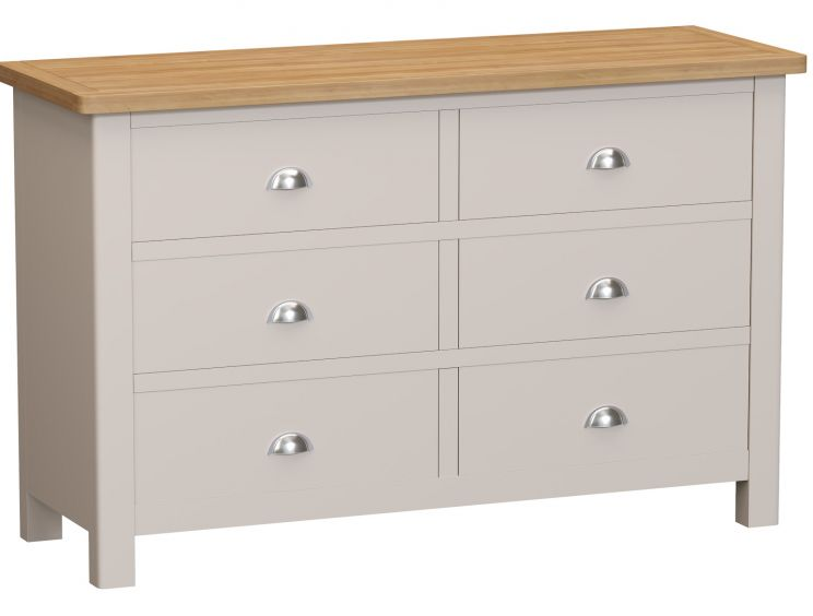 Radstock Truffle 6 Drawer Chest