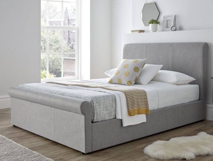 Seville Ottoman Bed - Mid Grey