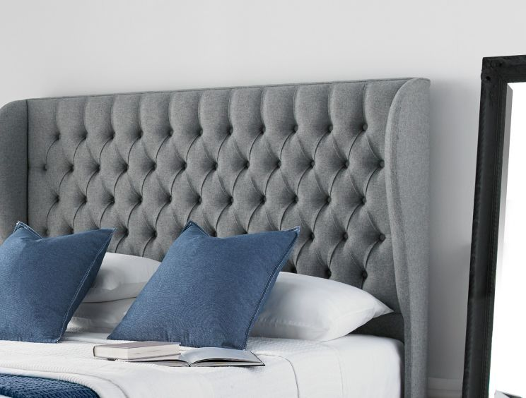 Chesterfield South Upholstered Ottoman Base And Headboard Only