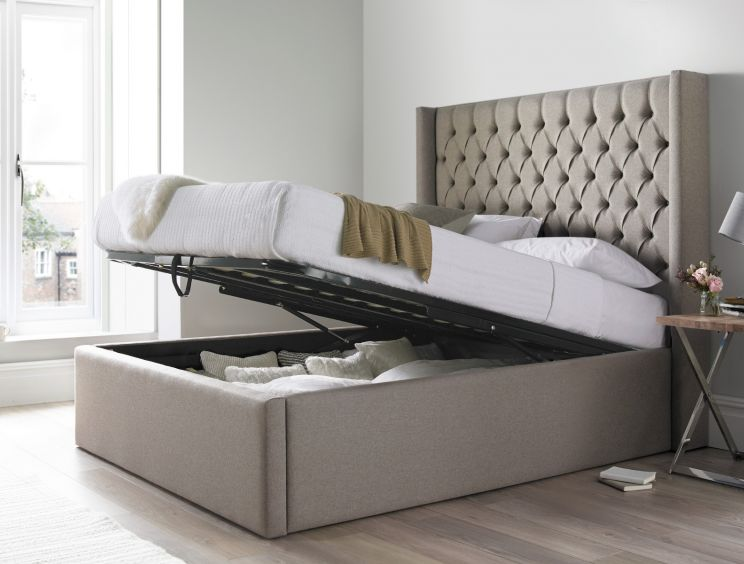 Islington Upholstered Ottoman Bed Frame Time4sleep