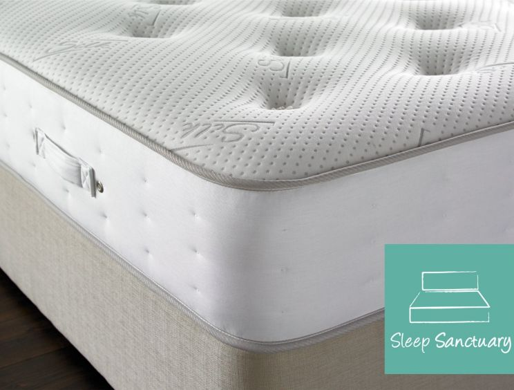 Sleep Sanctuary Wordsworth Silk 2000 Pocket Sprung Mattress