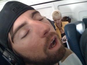 sleep on plane