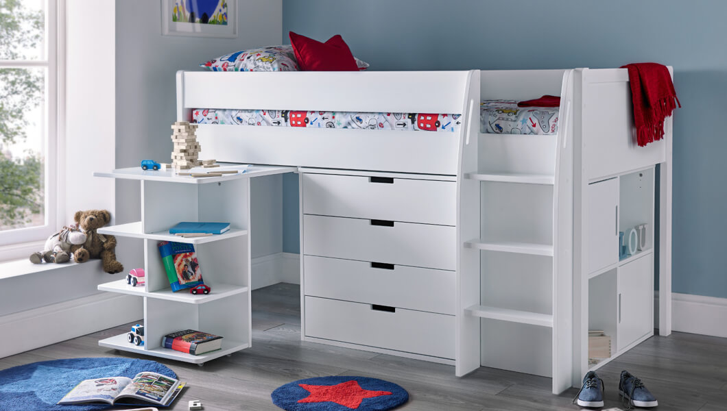 Picture of: Children S Mid Sleeper Beds Cheap Mid Sleeper Beds Time4sleep