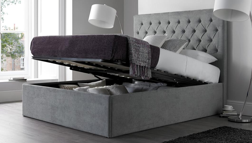 Astonishing Ottoman Beds Cheap Wooden Ottoman Storage Beds Time4Sleep Theyellowbook Wood Chair Design Ideas Theyellowbookinfo