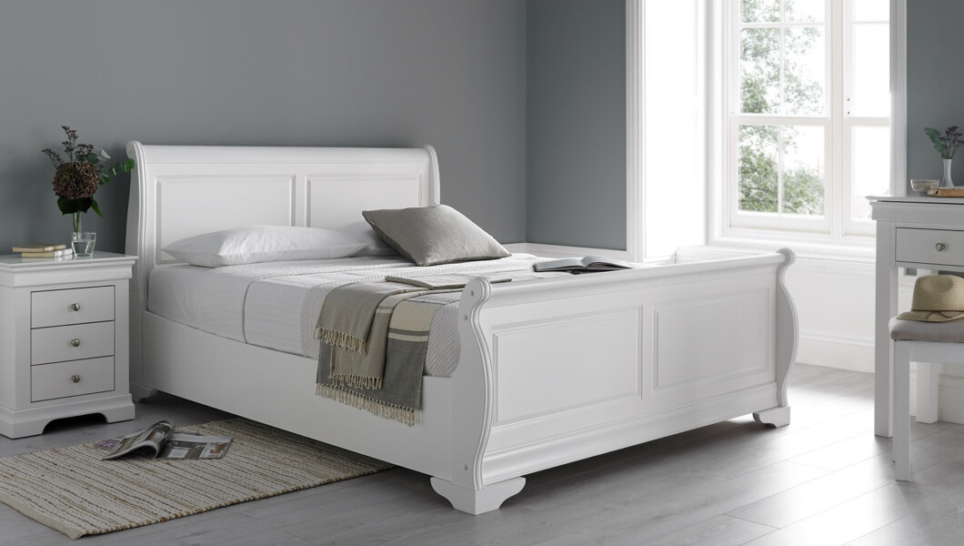 Picture of: Sleigh Beds Sleigh Bed Frames Time4sleep
