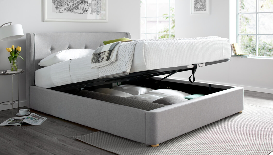 Image of: Storage Beds Beds Frames With Storage Time4sleep