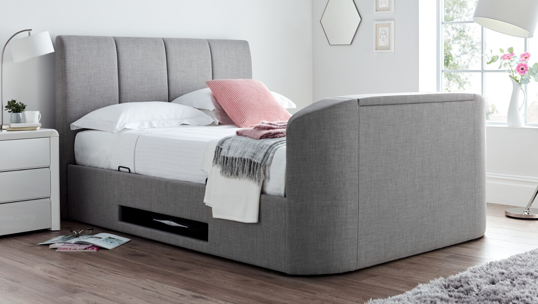 Remarkable Cheap Tv Beds For Sale Tv Bed Frames Time4Sleep Pabps2019 Chair Design Images Pabps2019Com