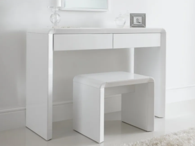 ice high gloss dressing table