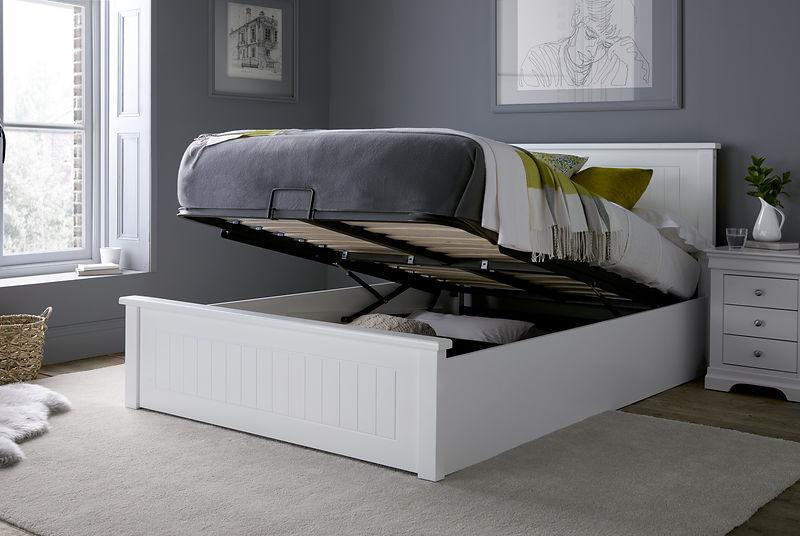single ottoman beds